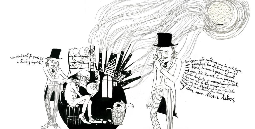 Anemone Kloos Leipziger Illustrationen Nikolaj Gogol