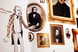 Nikolaj Gogol Anemone Kloos Illustrationen aus Leipzig