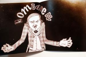 Illustratorin aus Leipzig Anemone Kloos Nikolaj Gogol