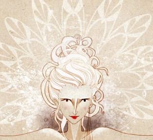 anemonekloos illustration